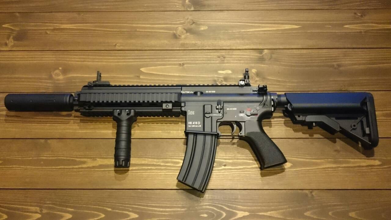 DEVGRU Custom HK416D